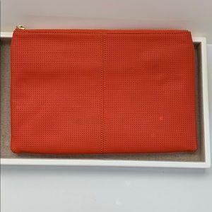 Nieman Marcus Orange Pouch/clutch